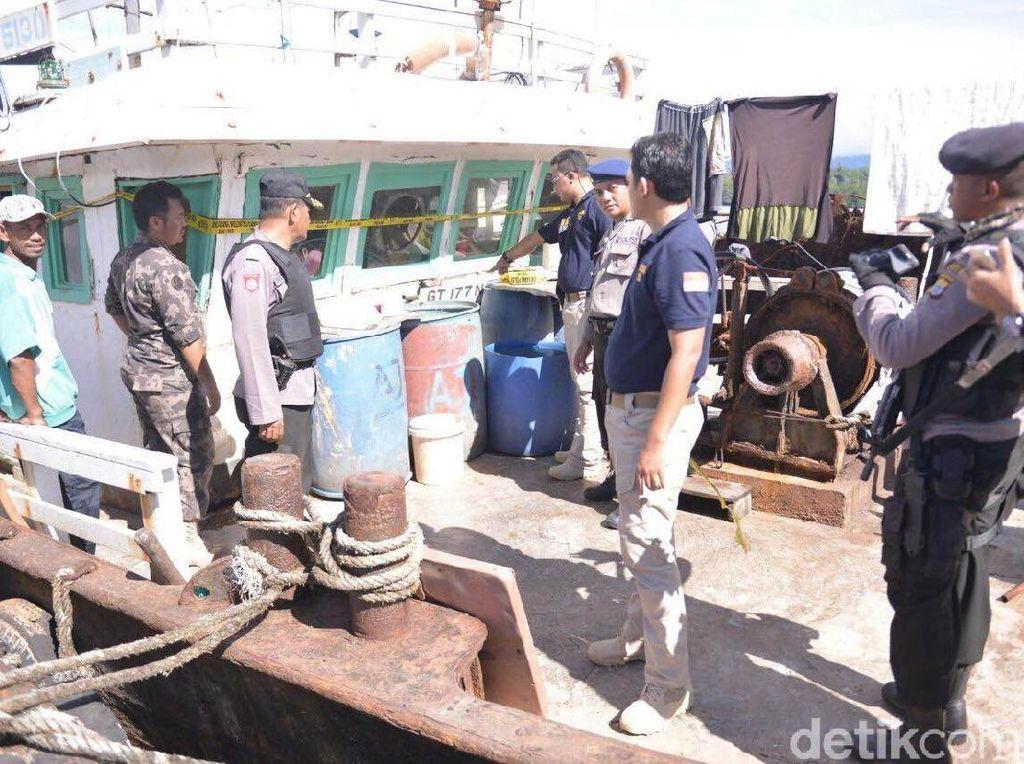 Menurut Menteri Susi 10.000 kapal maling ikan telah diusir dari laut Indonesia. Istimewa/Abdul Haris Utiarahman/detikcom