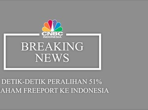 VIDEO: Detik-Detik Peralihan 51% Saham Freeport Ke Indonesia