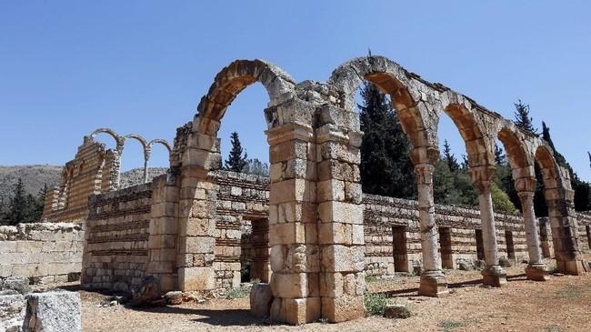 Reruntuhan kota kuno ini pertama kali ditemukan oleh arkeolog pada tahun 1940-an.