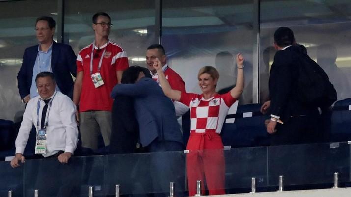 Presiden Cantik Kroasia Kolinda Grabar Curi Perhatian Publik