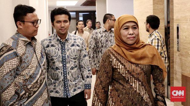 Khofifah-Emil Hingga Mantan Kapolri Jenguk Ani Yudhoyono
