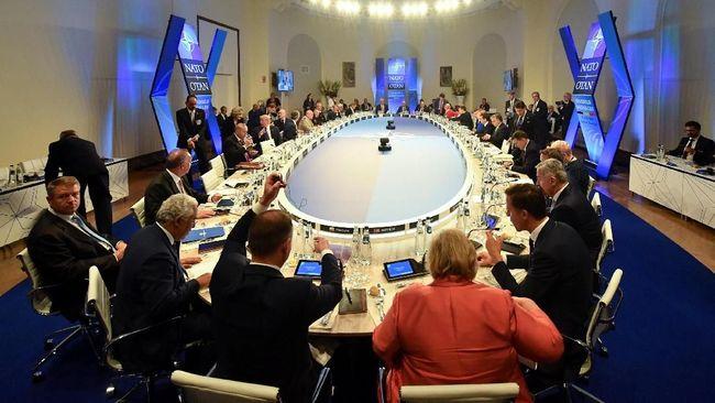 NATO Rapat Darurat Bahas Tuntutan Trump soal Bujet Pertahanan