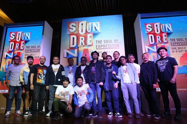 Limp Bizkit Hingga Padi Reborn di Soundrenaline 2018