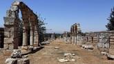 Kini reruntuhan ini dibuka untuk turis, meski ada beberapa bangunan yang dilarang dikunjungi karena khawatir roboh.