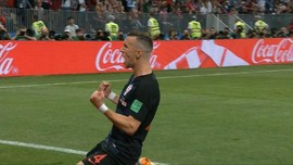 VIDEO: 1 Gol dan 1 Assist Ivan Perisic Antar Kroasia ke Final