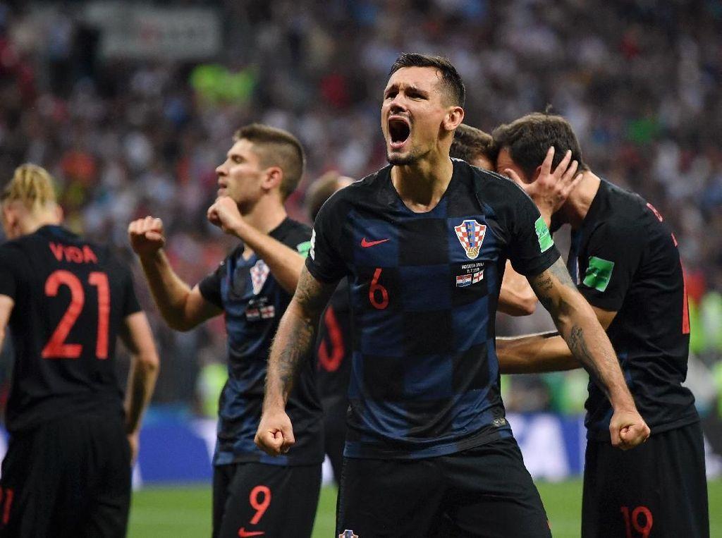 Kemenangan dramatis meloloskan Kroasia ke final Piala Dunia untuk pertama kalinya sepanjang sejarah, melampaui capaian pada 1998 yang ketika itu cuma menjadi semifinalis. (Foto: Dan Mullan/Getty Images)