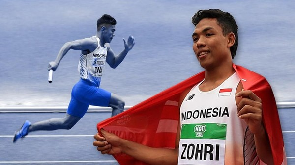 Sprinter Lalu M Zohri
