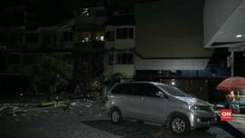 VIDEO: Gas 12 Kg Bocor, Meledak di Ruko Kebayoran Baru