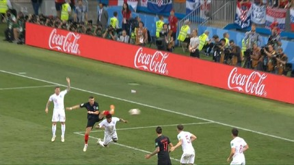 VIDEO: Gol Trippier Dibalas Perisic di Semifinal Piala Dunia