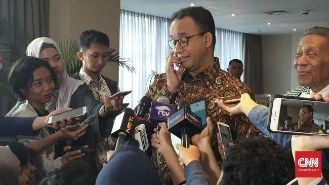 Anies Anggap Surat Politikus PKS soal Capres Salah Alamat
