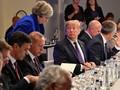 Ke Inggris, Trump Kritik PM Theresa May soal Brexit