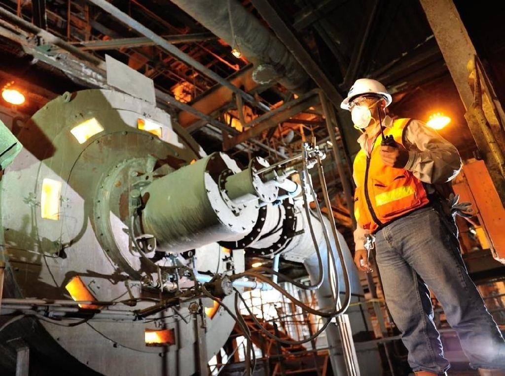 Rinciannya, total ore dari Tambang Terbuka Grasberg sebesar 109.355 ton, dan tambang bawah tanah (underground) 37.542 ton. Istimewa.