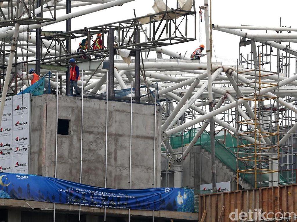 LRT Velodrome dipersiapkan untuk mendukung Asian Games pada pertengahan Agustus mendatang.