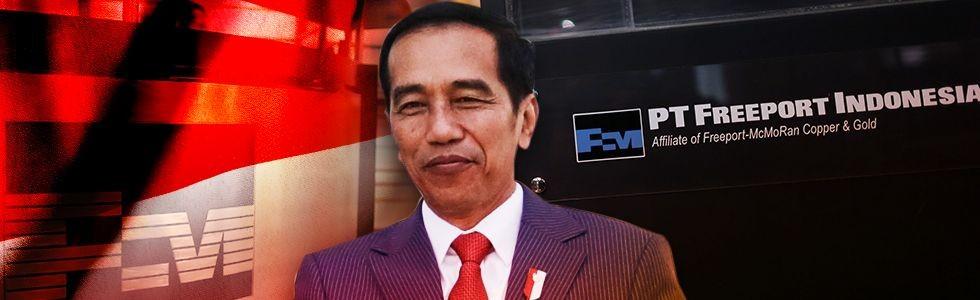Indonesia Dekap Freeport