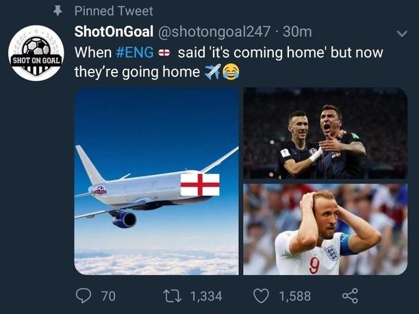 Bukan Sepakbola Coming Home, tapi Inggris Going Home