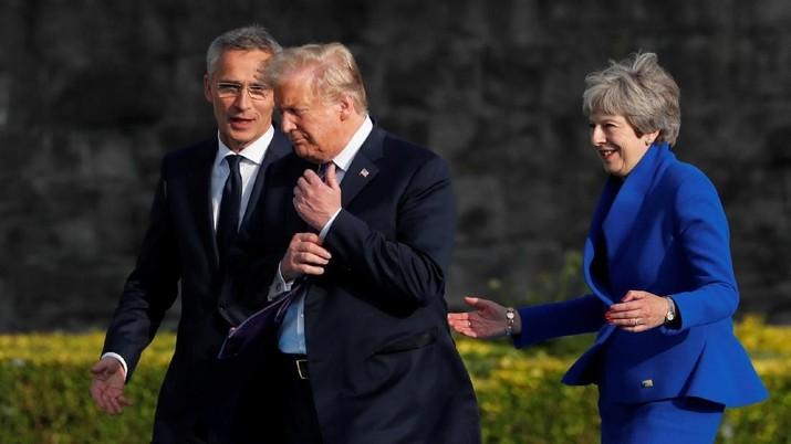 Jika mereka melakukan kesepakatan semacam itu, kami akan bekerjasama dengan Uni Eropa ketimbang Inggris, kata Trump.