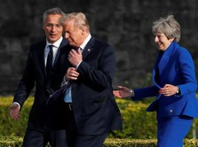 Trump Cibir Rencana Brexit PM Inggris
