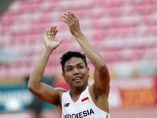 Momen Bersejarah! Atlet RI Raih Emas di Kejuaraan Dunia 100 M