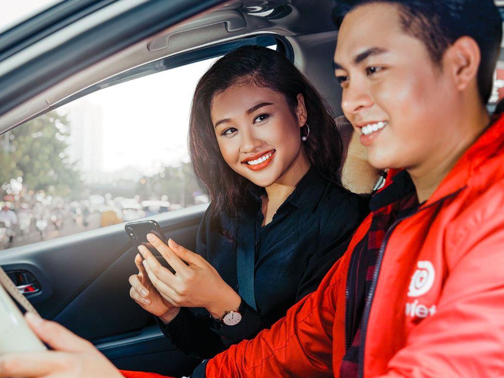 Kalau ini adalah driver Go-Car yang juga penuh dengan senyuman. Foto: istimewa