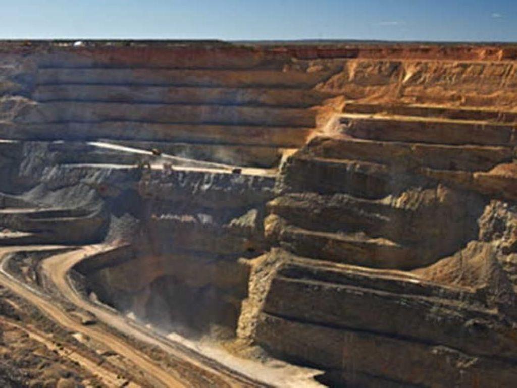 Cadia East di Australia ini terletak sekitar 250 km sebelah barat Sydney. Tambang terbaru di antara tiga tambang yang dimiliki perusahaan tambang Australia ini menyumbang 37,6 juta ons. Miningglobal.com/Istimewa.