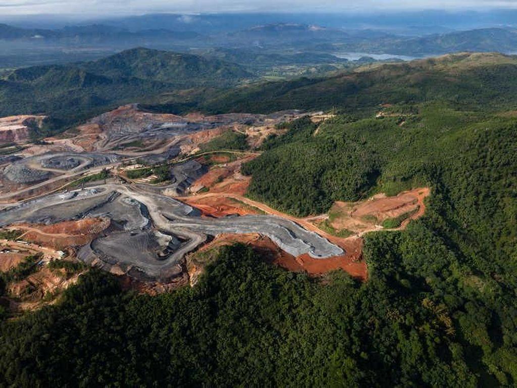 Tambang Pueblo Viejo yang berlokasi di Republik Dominika ini terletak di 100 km dari ibukota di Santo Dominigo punya kandungan 40,1 juta ons emas. Miningglobal.com/Istimewa.