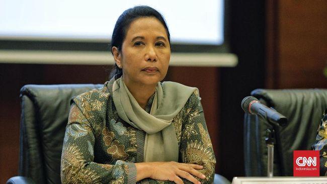 Menteri Rini akan Kaji Tiket Garuda Indonesia Supaya Murah