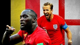 VIDEO: Lukaku dan Kane Berebut Tempat Ketiga Piala Dunia 2018