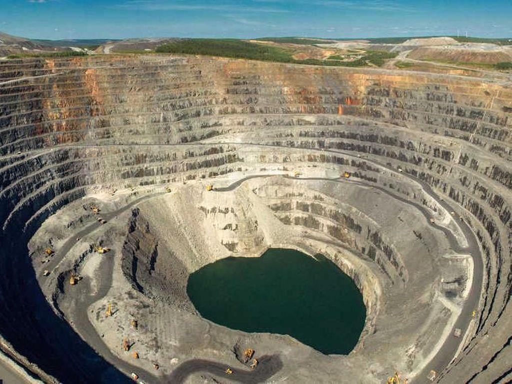 Tambang Olimpiada di Siberia ini merupakan wilayah pertambangan paling produktif di Rusia yang memiliki 47,5 juta ons emas. Miningglobal.com/Istimewa.
