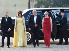 Ini Menu Makan Malam Kenegaraan Trump-May di Inggris