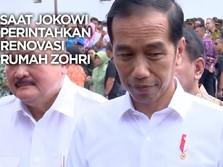 VIDEO: Saat Jokowi Perintahkan Renovasi Rumah Zohri