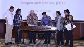 Inalum Kantongi Dana Rp58,4 T untuk Pembelian Saham Freeport
