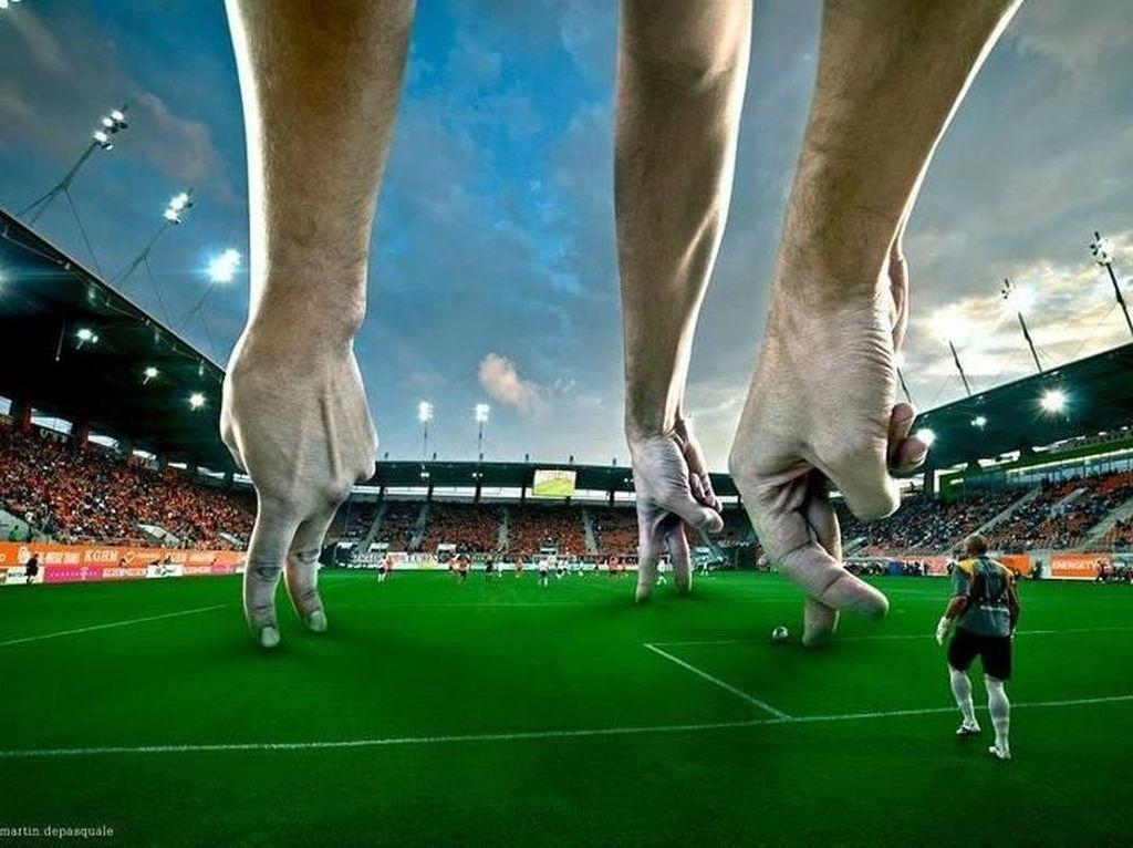 Sepakbola jari. Foto: Martín De Pasquale