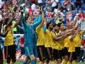 FOTO: Pesta Belgia Raih Peringkat Ketiga Piala Dunia 2018