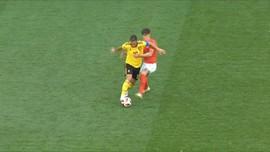 VIDEO: Eden Hazard, Bintang Belgia Saat Lumat Inggris