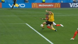 VIDEO: Meunier Cetak Gol Cepat, Belgia Unggul Atas Inggris