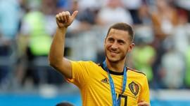 Barcelona Disebut Bersedia Tukar Dembele dengan Hazard