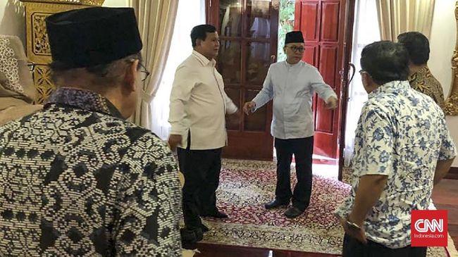 Gerindra, PKS, PAN Sepakat Koalisi Usung Prabowo Jadi Capres