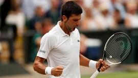 Novak Djokovic ke Final Wimbledon 2018