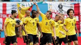 FOTO: Belgia Kembali Kalahkan Inggris di Piala Dunia 2018