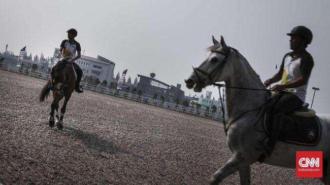 Lokasi Pertandingan Equestrian Asian Games Siap Digunakan