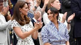 Meghan Markle Andalkan Gaya Kasual saat Tonton Wimbledon