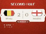 VIDEO: Kalahkan Inggris, Belgia Sukses Catat Sejarah