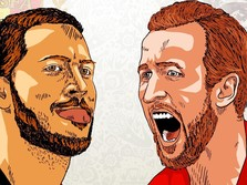 Inggris vs Belgia: Mengejar Hadiah 'Hiburan' Rp 336 M