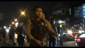 VIDEO: Polisi Berjaga di Lokasi Baku Tembak Jalan Kaliurang
