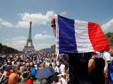 Direksi Bursa Kompak Dukung Perancis di Final Piala Dunia