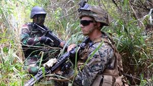 FOTO: Latihan Gabungan Marinir Indonesia di Amerika Serikat