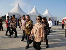 Menteri Rini Pimpin Ekspedisi Tol Trans Jawa