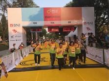 BNI Tebar Promosi di Ajang BNI-UI Half Marathon 2018