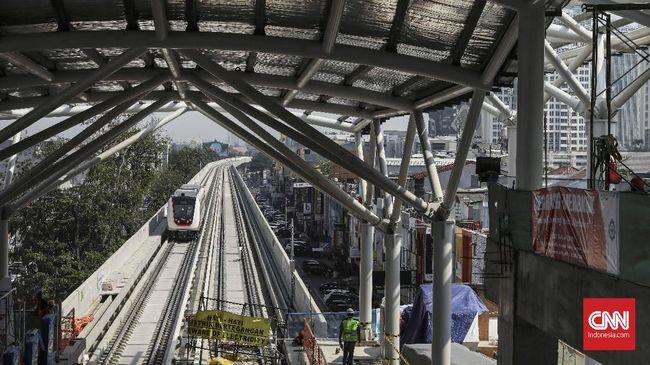 Menhub Minta Proyek KCIC dan LRT Jabodebek Ditunda