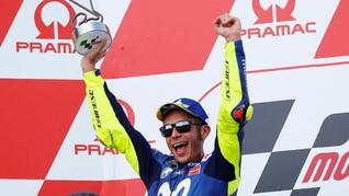 Rossi Soal Podium MotoGP Jerman: Balapan Terbaik Musim Ini